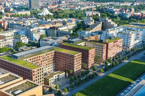 Green Roofs – The Future of Urban Buildings