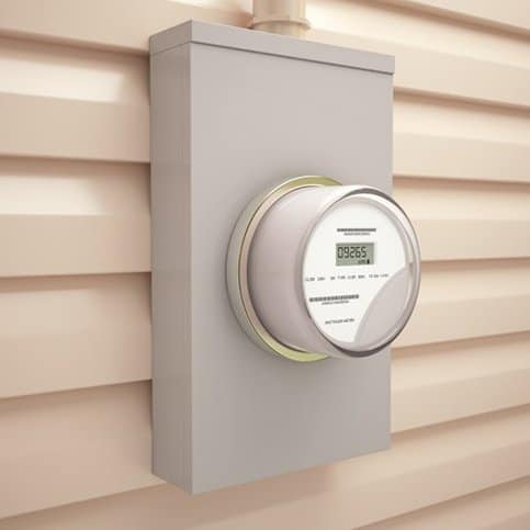 Smart electric meter covered by ANSI C12.1-2014