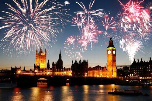 Fireworks in Europe