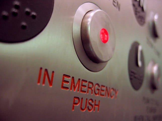 Stuck Elevator ASME A17.1