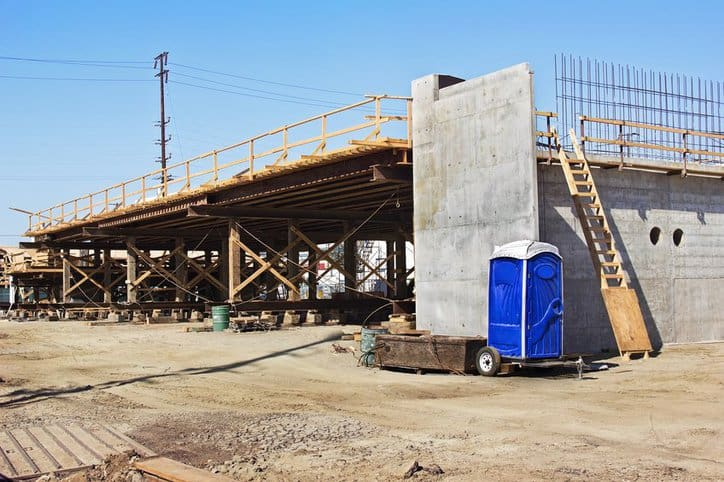 Requirements for Portable Bathrooms in Construction Sites