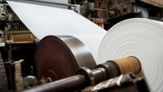 Machine used in the pulp and paper industry