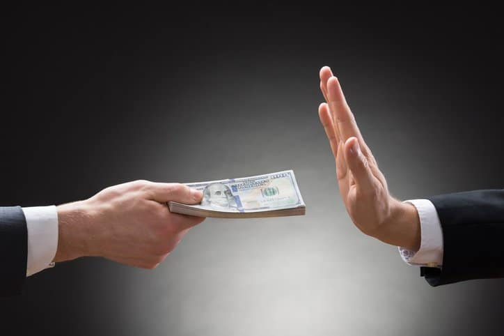 ISO 37001:2016 Anti-bribery Standard Released