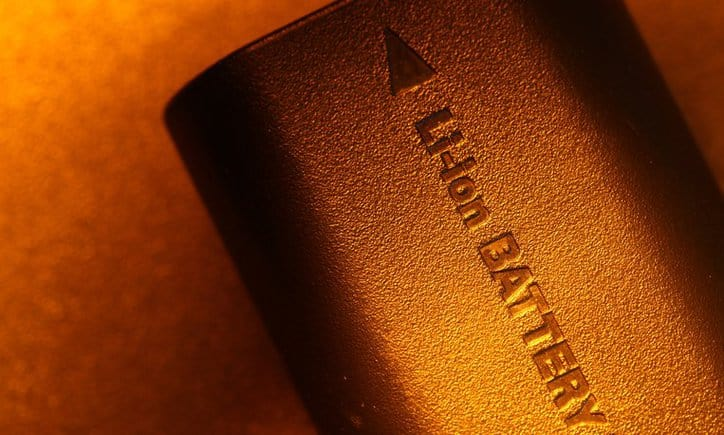 Lithium Ion Battery Graphene