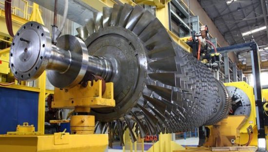 Turbine that has undergone testing with Performance Test Codes