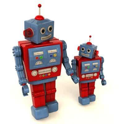 Mother Robot Selects Children For Evolution