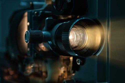 35 mm Film Projector