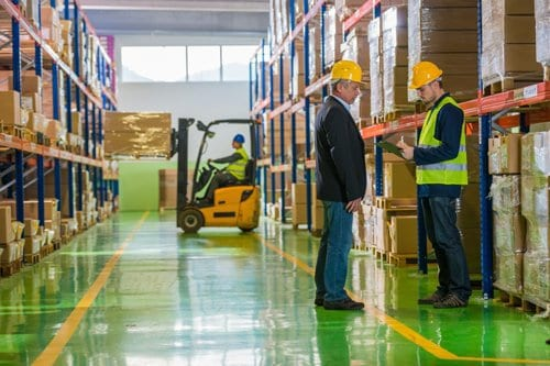 Training Personnel Limits Forklift Accidents