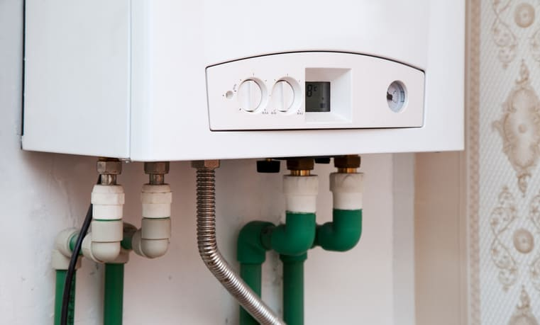 An ANSI Z21.10.1-2017 Gas Water Heater