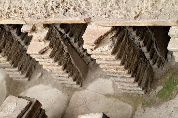 Hypocaust Ancient Roman Heating