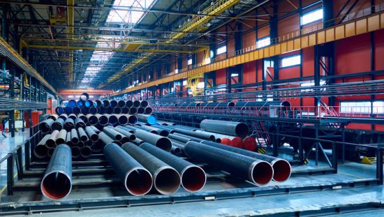 Seamless steel pipes that follow ASTM A106 19