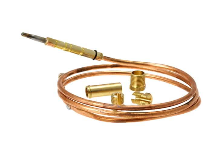 Thermocouple type that follows ANSI specifications and calibration tables