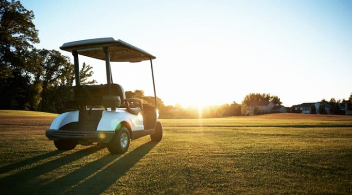 Safe Use of Golf Cars Carts with ANSI/ILTVA Z130.1-2012