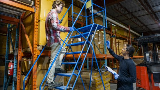 Mobile Ladders Safety Tips ALI ANSI