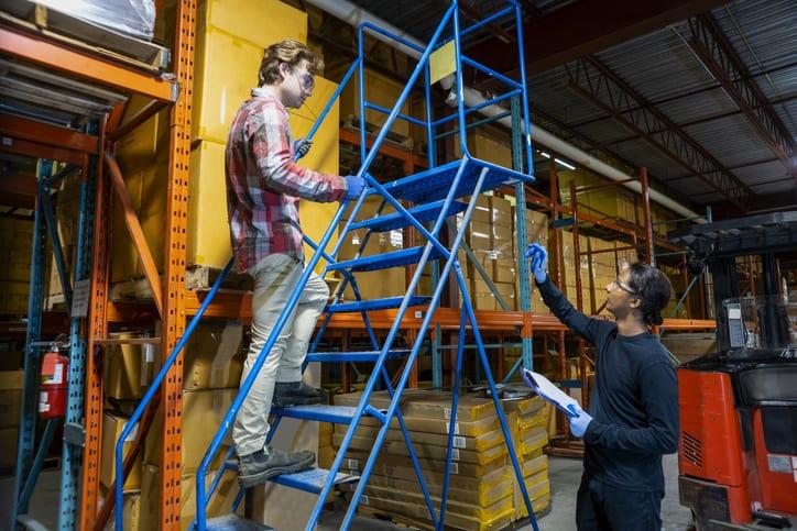 Mobile Ladders Safety Tips ALI ANSI